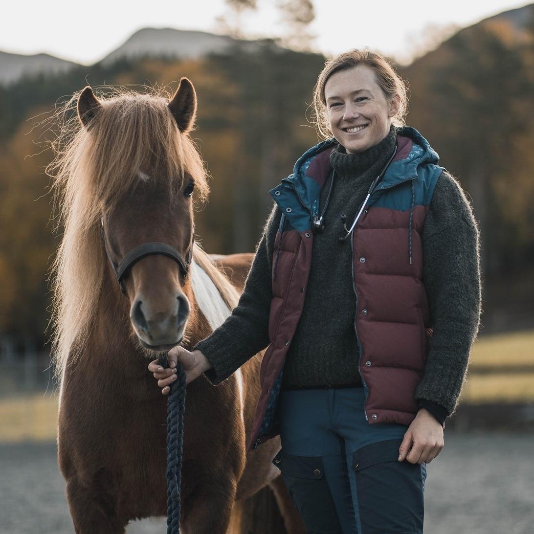 Behandling av innvollsorm hos hest